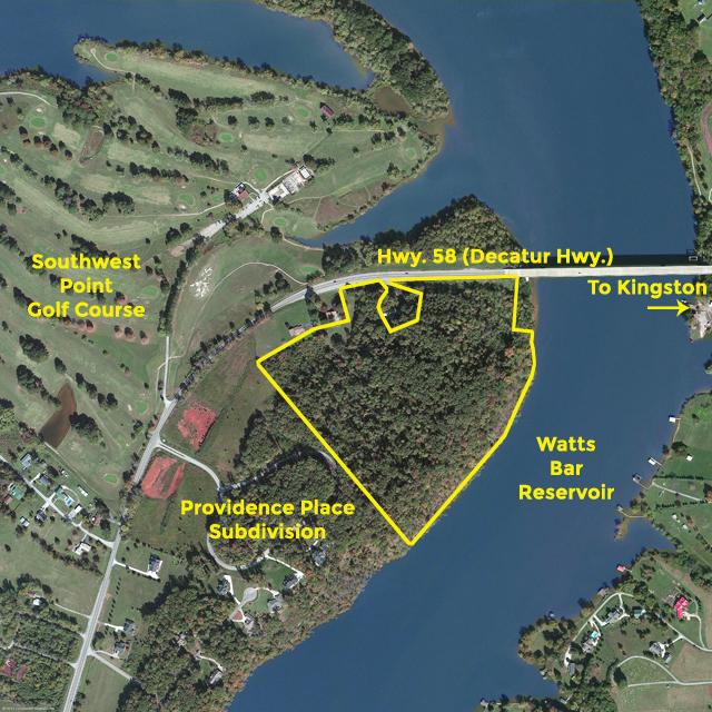 Absolute Auction – 28.6 Acres on Watts Bar Lake