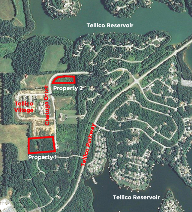 Foreclosure Auction – 2 Tracts in Tellico Village