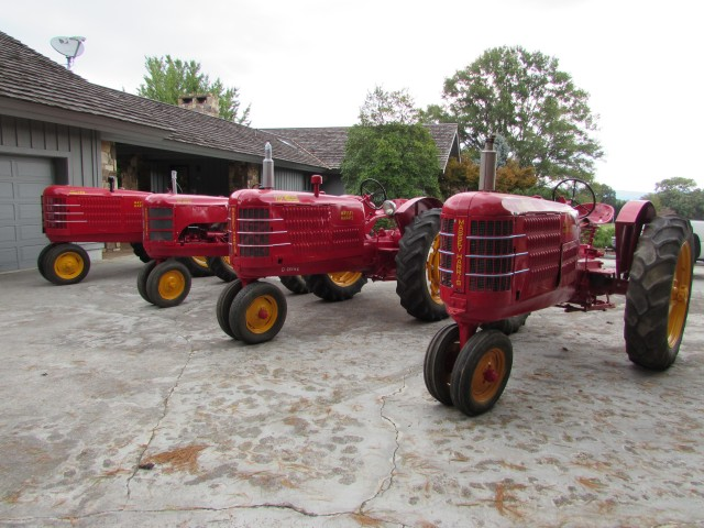 Absolute Auction – Massey Harris Tractor Collection & Mercedes Convertible
